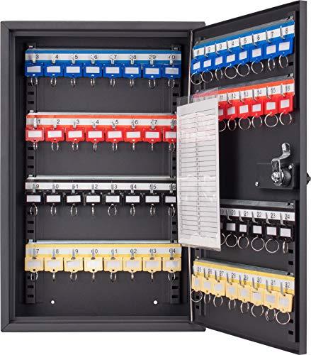 BARSKA CB13264 Combination Lock 64 Position Adjustable Key Cabinet Lock Box Black
