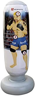 MD Sports 50 inch Inflatable Target Trainer Lights Out Kick Boxing Game with Sound Effect | Ages 6 Years up