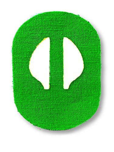 FixTape atmungsaktives Sensor-Tape für Medtronic Enlite I selbstklebendes Patch für Glukose-Sensor mit hohem Trage-Komfort I hautfreundlich und wasserfest in modernen Designs I 7 Stück (Grün)