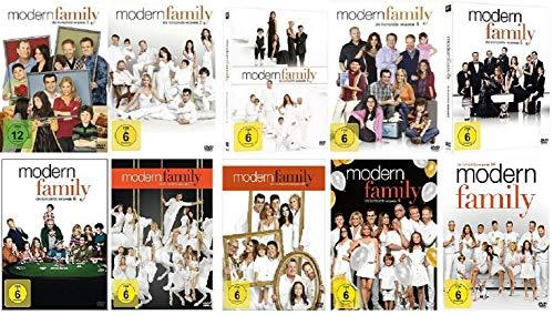 Modern Family Staffel 1-10 (1+2+3+4+5+6+7+8+9+10, 1 bis 10) [DVD Set]