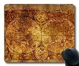 Yanteng Magic Map gaing Mouse Pad, Mapa del Mundo Map Mouse Mat YT 040