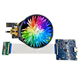 3.4 Inch IPS Round Circular LCD Display 800x800 Screen with Touch Panel Hdmi to Mipi Controller Board for Industrial LCD Smart Home Monitor