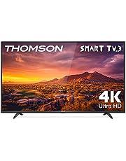 Thomson 50UG6300 - Televisor LED de 50 pulgadas, Smart TV con 4K UHD, Dolby Audio