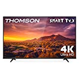 THOMSON 65UG6300 - Televisor LED de 65 pulgadas, Smart TV con 4K UHD, Dolby Audio, Compatible con Alexa
