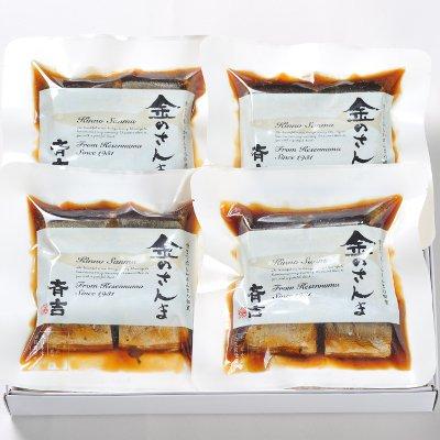 さんま佃煮 金のさんま 6切入×4袋 宮城県 気仙沼 斉吉商店 贈答品 お取り寄せ