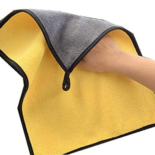 Soul hill Extra Suave de la Toalla de Lavado de Coches de Microfibra de Felpa de Limpieza en el paño de sequía Easy Clean Car Wash Care Pulido Toalla de Limpieza del hogar