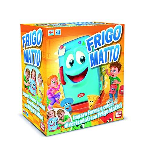 MAC DUE- Gioco in Scatola FRIGO Matto, 233784