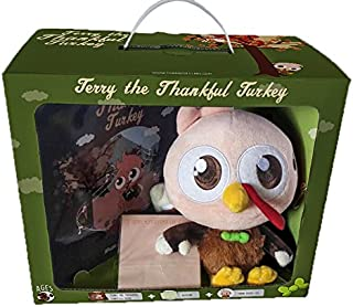 Terry the Thankful Turkey Book and Toy - A New Thanksgiving Tradition