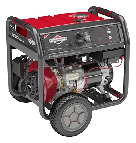 Briggs & Stratton 30679 Elite Series Portable Generator with Key Electric Start and Bluetooth Connectivity, 10000 Starting Watts 8000 Running Watts