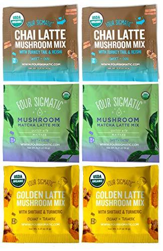 Four Sigmatic Mushroom Latte Mix Sampler