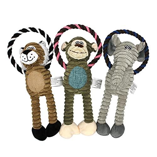 Rope Stuffed Animals Dog Toy (Elephant)