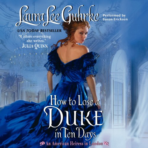 How to Lose a Duke in Ten Days audiobook cover art