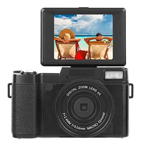 Byged 3.0 Pulgadas LCD 4X Videocámara con Zoom Digital Mini cámara de Video portátil Soporte Tarjeta de Memoria para Interiores, Exteriores