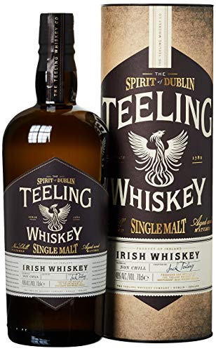 Teeling Single Malt Irish Whiskey mit Geschenkverpackung (1 x 0,7 l)
