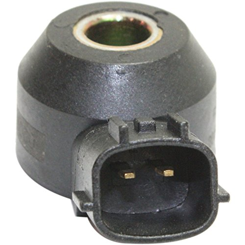 Knock Sensor compatible with Infiniti QX4 00-03 / Nissan Altima 02-04 2 Male Terminals Direct Mounting Type Female Connector