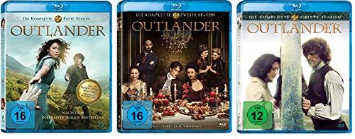 Outlander - Die komplette Season/Staffel 1+2+3 im Set - Deutsche Originalware [16 Blu-rays]