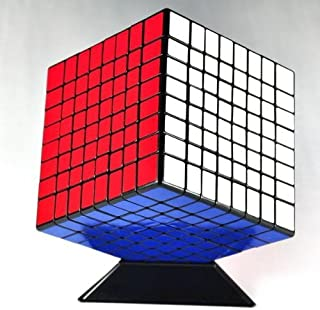 ShengShou 8x8x8 8cm Black Twisty Speed Cube Puzzle 8x8