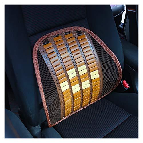 Almohadas lumbares 1 PCS Atrás Cintura lumbar Masaje Cojín de asistencia almohadilla para asiento de automóvil Silla de oficina Silla de automóviles Repuestos Accesorios interiores Decoración Soporte