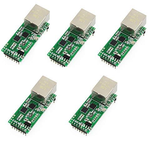 USR 5PCS USR-TCP232-T2 Tiny Serial Ethernet Converter Module Serial UART TTL to Ethernet TCPIP Module