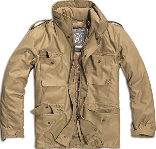 Brandit Herrenjacke Vintage Parka Design Militär Stil M65 Armee Combat Warm Winter