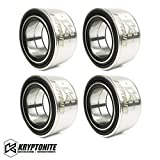 Kryptonite Heavy Duty Replacement Wheel Bearing Package Deal KRZRWB17-PACK Compatible with 2014-2020 RZR XP 1000 / XP Turbo