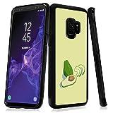 Samsung Galaxy S9 case Avocado Full Body Case Cover Slim Fit Heavy Duty Protection case Shockproof case Compatible with Samsung Galaxy S9