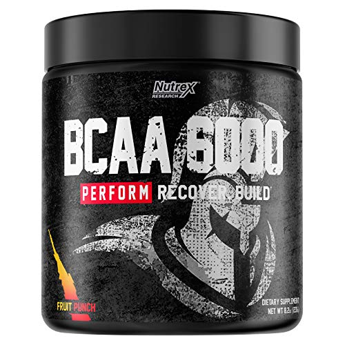 Nutrex Research BCAA 6000 (30 Serv) Fruit Punch, 0.26 kg