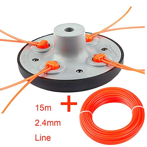 BGTOOL Universal Trimmer Head Weed Eater Easy Load String Attachment...