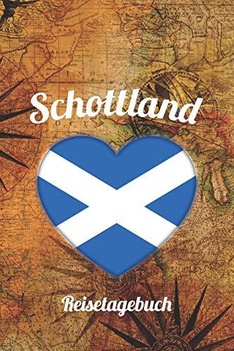 Schottland Reisetagebuch: A5 Reise Journal I Notizbuch I Urlaubs Planer I Road trip Planer I Travel notebook I 6X9 Pocket journal I Geschenk für Backpacker