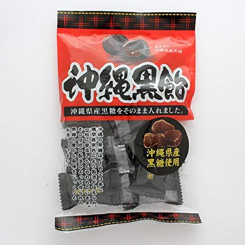 沖縄黒飴 沖縄県産黒糖使用 個包装 ミネラル補給 海邦商事 100g×20袋