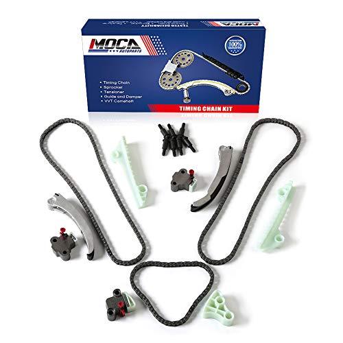 MOCA Timing Chain Kit 9-4186SX for 06-09 Buick Lucerne & 04-08 Cadillac Allante Deville SRX & 04-05 Pontiac Bonneville & 94-05 Cadillac Deville 4.6L V8 DOHC
