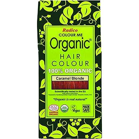 Radico - Tinte vegetal orgánico para el cabello - Rubio Caramelo