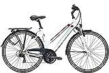 ZEG Pegasus Piazza 21 Damenfahrrad 21 Gang Trekkingrad 2020, Rahmenhöhe:53 cm, Farbe:weiß