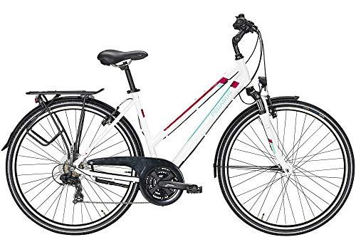 ZEG Pegasus Piazza 21 Damenfahrrad 21 Gang Trekkingrad 2020, Rahmenhöhe:50 cm, Farbe:weiß