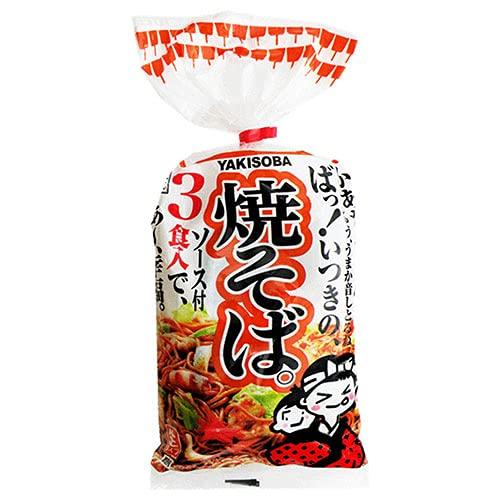 五木食品 3食入焼そば 510g×12袋入×(2ケース)