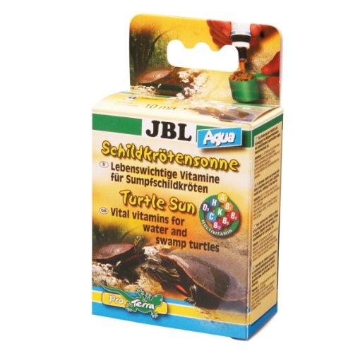 JBL 70441 Multivitaminpräparat für Wasserschildkröten, Schildkrötensonne Aqua 2 x 10 ml