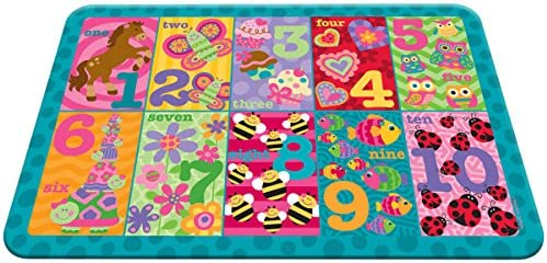 Stephen Joseph Placemat Girl Numbers product image
