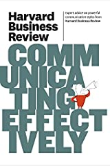 HBR Communicating Effectively (Harvard Business Review Paperback Series) Paperback