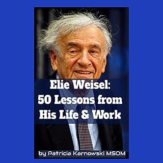 Elie Wiesel audiobook cover art
