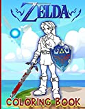 Zelda Coloring Book: Unofficial High Quality Adult Coloring Books For Women And Men Designed To Relax And Calm