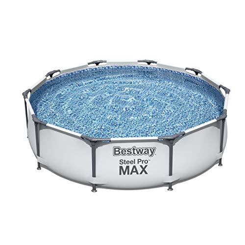 Bestway Steel Pro MAX Stahlrahmenbecken, grau