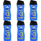 Adidas Sport Energy homme/man Duschgel, 6x 250 ml