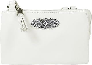 Trachtenland - Trachten Umhängetasche Sofia - Kleine Handtasche Abendtasche mit Metallapplikation zu Dirndl und Lederhose
