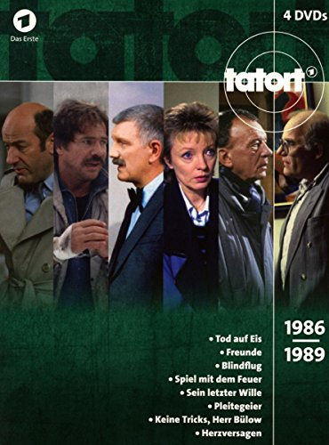 Tatort Klassiker - 80er Box 3 (1986-1989) [4 DVDs]