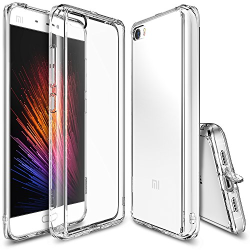 Ringke Xiaomi Mi 5 Case Funda, Fusion Crystal Clear PC Back