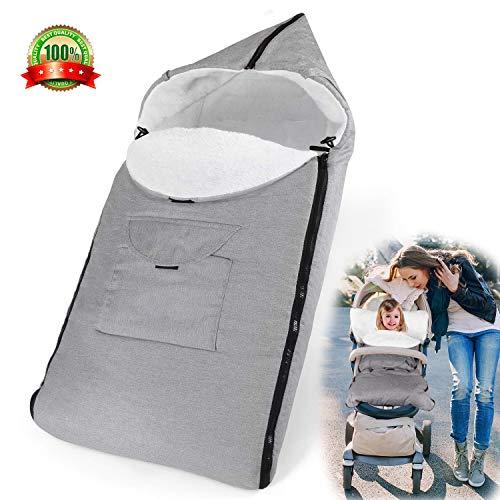 AUVSTAR Saco de Dormir Térmico Universal para Bebé,Saco para silla de...