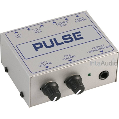 Best Price Square Line Mixer, compact, 2CH LINEMIX2S by Pulse