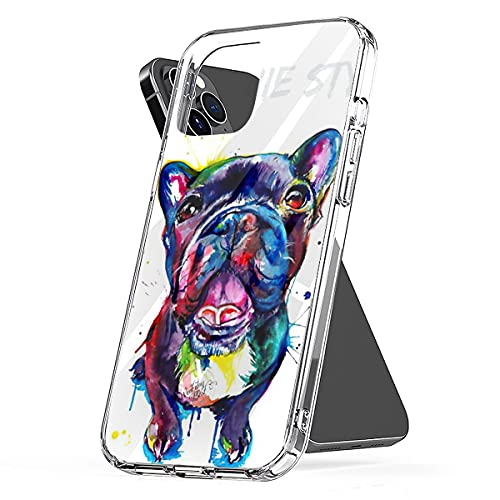 Phone Case Compatible with iPhone Samsung Galaxy French 7 Bulldog 8 - S21 French 11 Style S20 Artwork S10 6 Plus X Xs Xr 12 Pro Max Se 2020 Mini S9 Accessories Scratch Waterproof