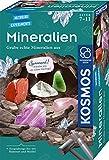 KOSMOS Grabe echte Mineralien selbst aus mit Hammer und Meißel Set de experimentación para niños a Partir de 7 años. (657901)