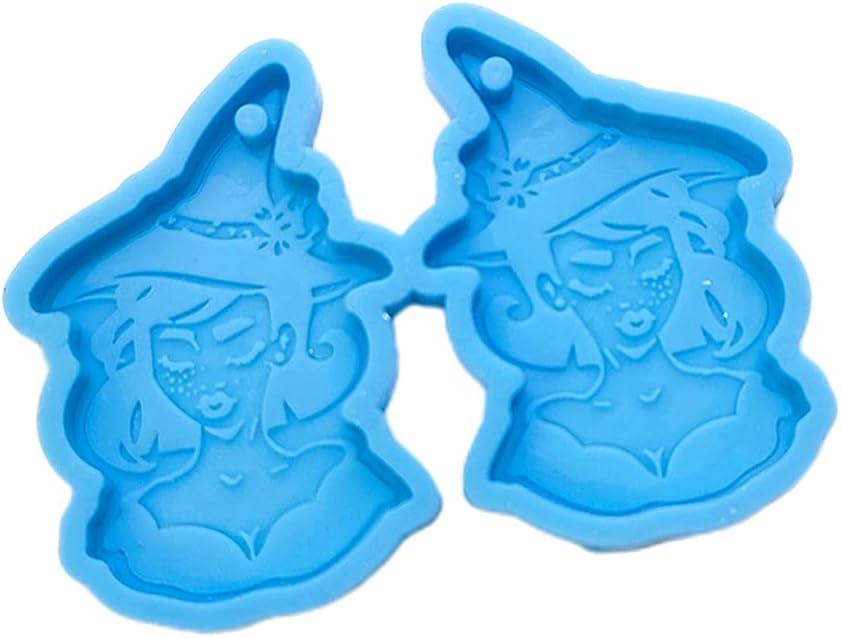 A FEI Halloween Earrings Epoxy Resin Pendan Dangle Drop Ear Virginia Beach Mall Mold Fees free